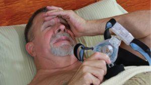 CPAP Air Mask Discomfort